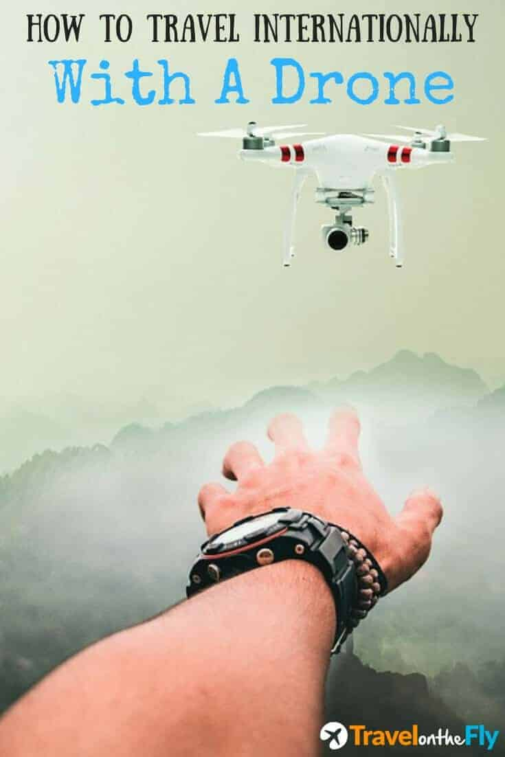 image of man flying a drone