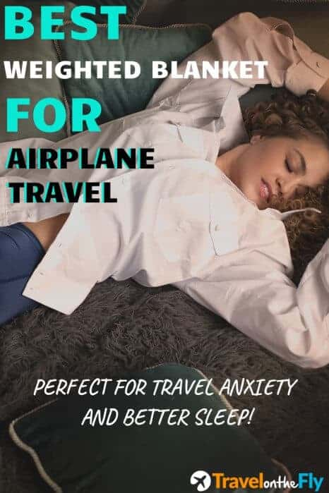 travel size weighted blanket
