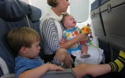 Tips And Strategies For Stress-Free Air Travel with Kids