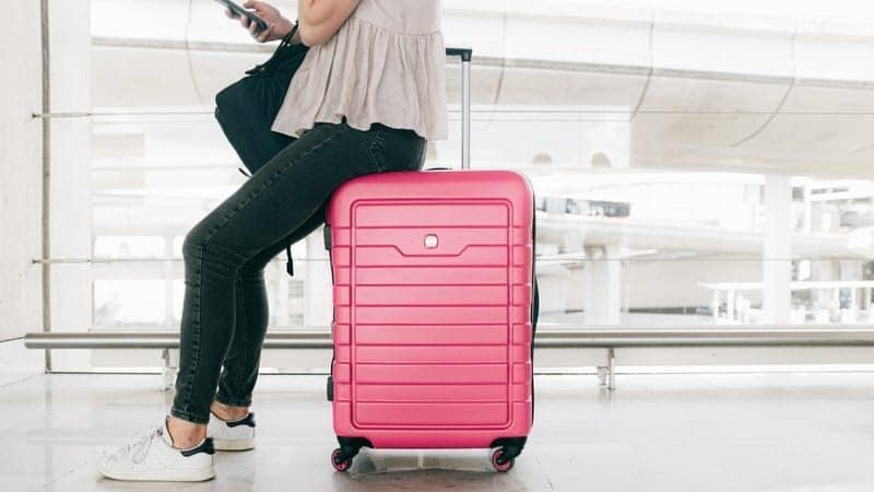 Pink Luggage - How to Clean Luggage